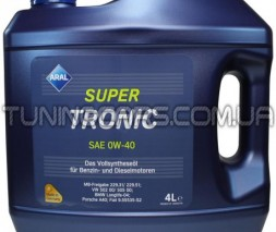 Масло моторное Aral SuperTronic 0W-40