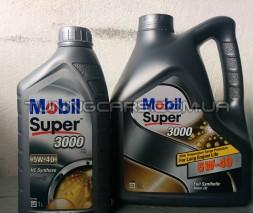 Масло моторное Mobil 5W40 SUPER3000 4л France