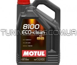 Масло моторное 8100 ECO-CLEAN C2 SAE 5W-30
