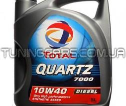 Масло моторное Total QUARTZ Dies7000 10W-40