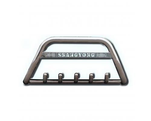 Защита переднего бампера для Fiat Fiorino F1-09 d60мм x 1.6
