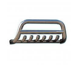 Защита переднего бампера для Nissan Pathfinder F1-13 d60мм x 1.6