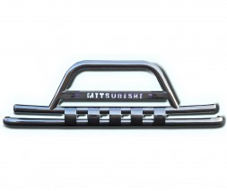 Передняя защита Mitsubishi Pajero Sport F3-13