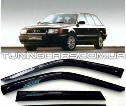 Дефлекторы окон Audi 100 C4, Ветровики Ауди 100 Ц4 (VL Tuning)