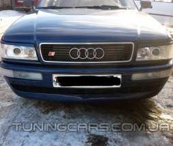Накладки на фары (реснички) Audi 80 B3, Ауди 80 Б3