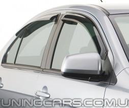 Дефлекторы окон Audi A4 Avant B6, B7 2001+, Ветровики Ауди А4 Авант Б6, Б7