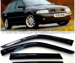 Дефлекторы окон Audi A4 Avant B5 1996+, Ветровики Ауди А4 Авант Б5
