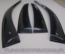 Дефлекторы окон Audi A4 B5 1995+, Ветровики Ауди А4 Б5