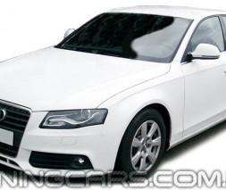 Дефлекторы окон Audi A4 B8 2008+, Ветровики Ауди А4 Б8