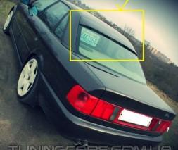 Спойлер на стекло (Бленда) Audi A6 C4, Ауди А6 Ц4