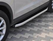 Пороги Audi Q3 NS001 (Newstar Grey)