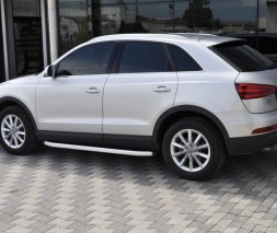 Пороги Audi Q3 NS001 (Newstar Grey)
