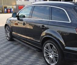 Пороги Audi Q7 EB002 (Elegance Black)