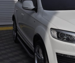 Пороги Audi Q7 NS001 (Newstar Grey)