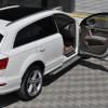 Пороги Audi Q7 AB004 (Artemis Silver)