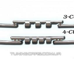 Передняя защита ус Audi Q7 (05+) ADQ7.05.F3-08