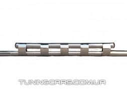 Передняя защита ус Audi Q7 (05+) ADQ7.05.F3-12