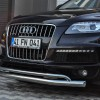 Защита переднего бампера для Audi Q7 ST017 (Arrow)