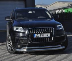 Кенгурятник Audi Q7 ST017 (Arrow)