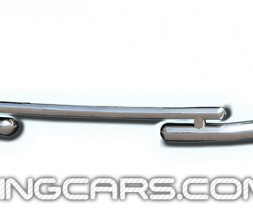 Передняя защита ус Audi Q7 (05+) ADQ7.05.F3-07