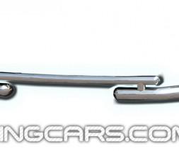 Защита переднего бампера для Audi Q7 (2005+) ADQ7.05.F3-07 d60мм x 1.6