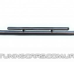 Защита переднего бампера для Audi Q7 (2005+) ADQ7.05.F3-20 d60мм x 1.6