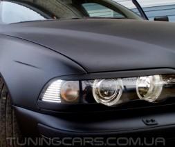 Накладки на фары (реснички) BMW E38 (нижние)