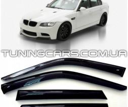 Дефлекторы окон BMW 3 E90 2005-2012, Ветровики БМВ 3 Е90 Седан