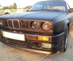 Бампер передний BMW E30 M Tech 2, БМВ Е30 М-Тех 2