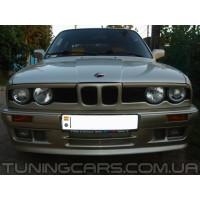 Накладки на фары (реснички) BMW 3 E30, БМВ 3 Е30