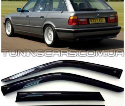 Дефлекторы окон BMW 5 Touring (E34) 1992-1995, Ветровики БМВ 5 Е34 Туринг