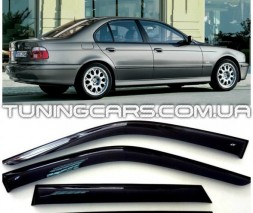 Дефлекторы окон BMW 5 Sd (E39)1995-2003, Ветровики БМВ 5 Е39 Седан