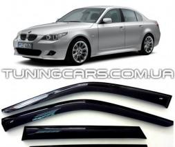 Дефлекторы окон BMW 5 E60 2002-2010, Ветровики БМВ 5 Е60 Седан