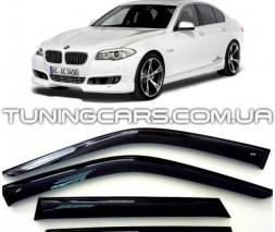 Дефлекторы окон BMW 5 Sd (F10/F11) 2011, Ветровики БМВ 5 Ф10, Ф11 Седан