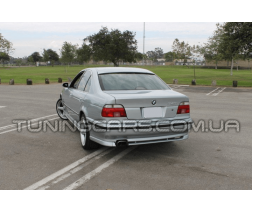 """Накладка на задний бампер BMW Е39 """"АС Schnitzer"""" (До рестайл)"""