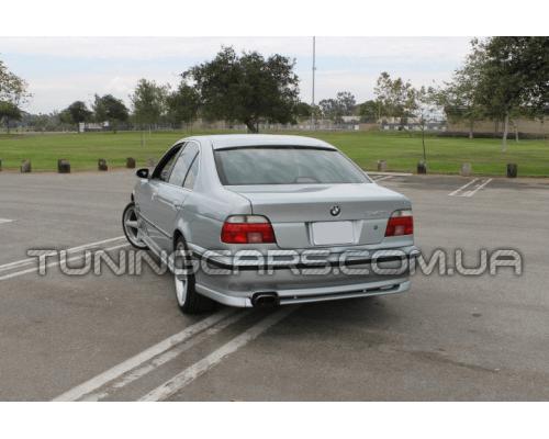 Накладка на задний бампер BMW Е39 АС Schnitzer (До рестайл)