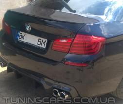 """Лип спойлер BMW 5 F10 """"M"""", БМВ 5 Ф10"""