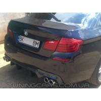 Лип спойлер BMW 5 F10 M, БМВ 5 Ф10