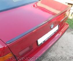Лип спойлер BMW E34, БМВ Е34