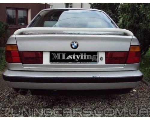 Спойлер BMW E34 Hella, БМВ Е34 Хелла