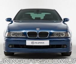 """Накладка на передний бампер BMW Е39 """"Альпина"""" (Рестайл), БМВ E39"""