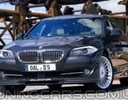 Накладка на передний бампер Alpina для BMW 5 F10, губа Альпина БМВ Ф10