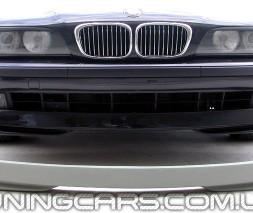 """Накладка на передний бампер BMW Е39 """"АС Schnitzer"""" (До рестайл), Юбка передняя БМВ E39"""
