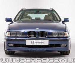 """Накладка на передний бампер BMW Е39 """"Альпина"""" (До рестайл), БМВ 39"""
