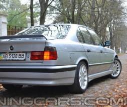 "Накладка на задний бампер BMW E34 ""Schnitzer"", Юбка задняя BМВ E34"