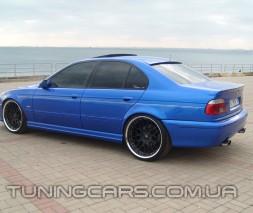 """Накладки на пороги BMW E39 """"Schnitzer"""", БМВ Е39"""