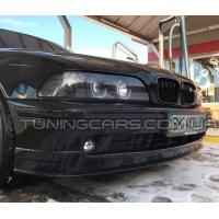 Накладка на передний бампер BMW (рестайл), Юбка передняя БМВ E39