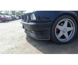"""Накладка на передний бампер BMW 5 (E34) """"Шницер"""""""