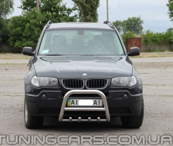 Передняя защита кенгурятник BMW X3 (04-06) BMX3.04.F2-01