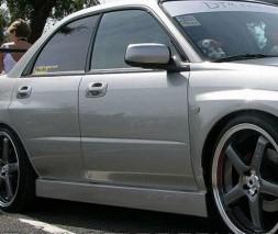 Накладки на пороги для BMW (Модель №7), БМВ